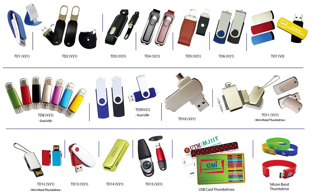 Percetakan Logo Syarikat Pemacu USB 01