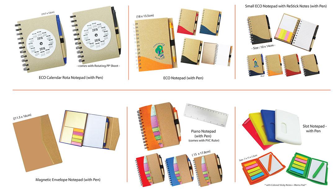 Percetakan Logo Syarikat Buku Nota 02