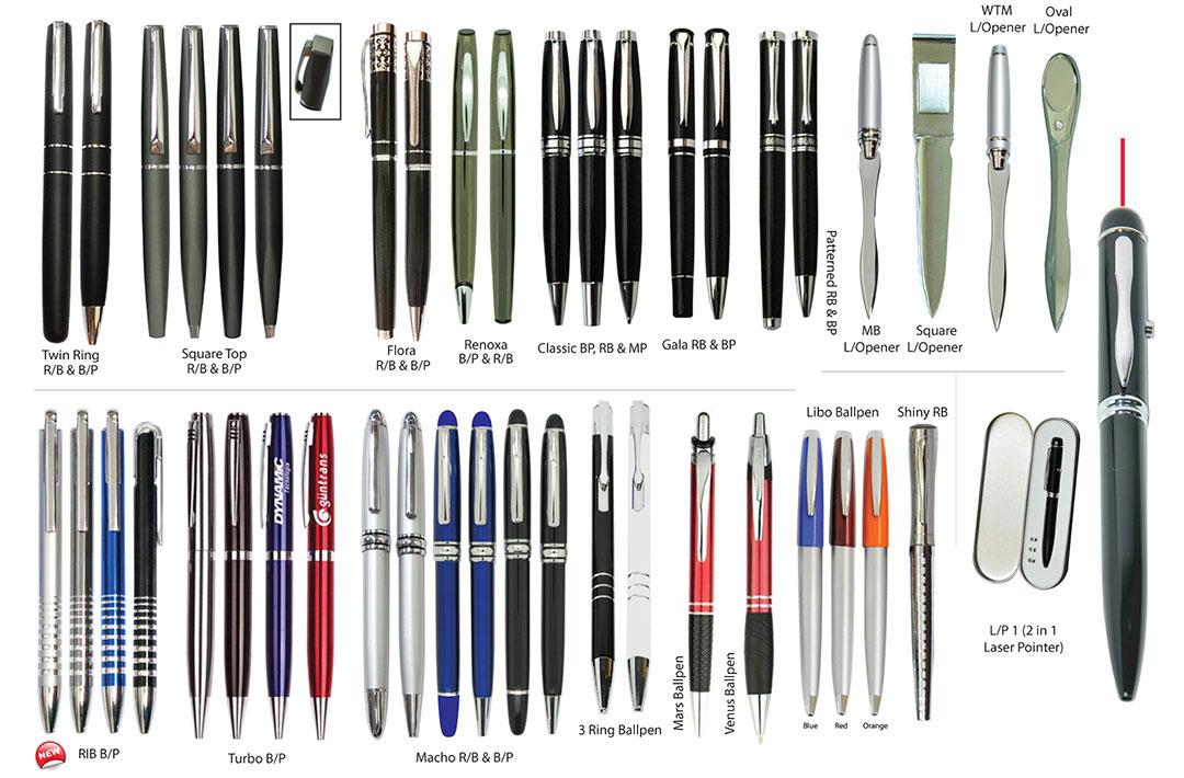 Percetakan Logo Korporat Pen Logam 01