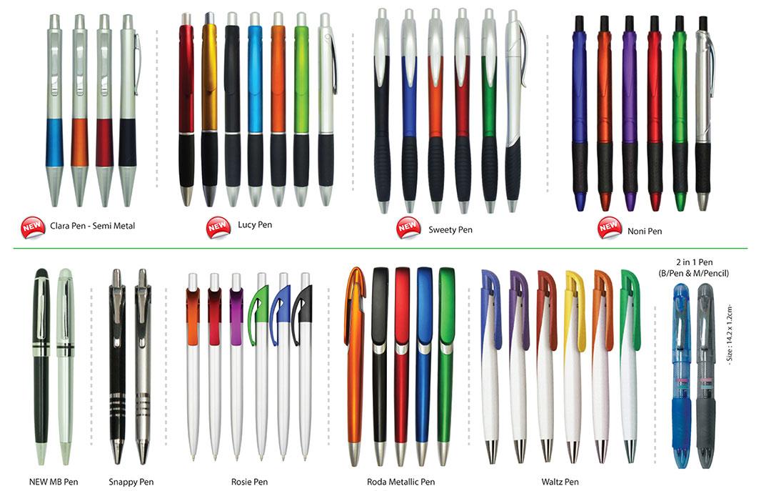Percetakan Logo Korporat Pen Plastik 01