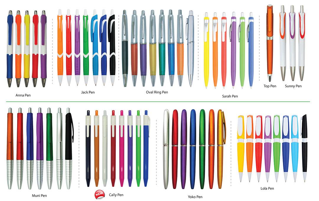 Percetakan Logo Korporat Pen Plastik 02