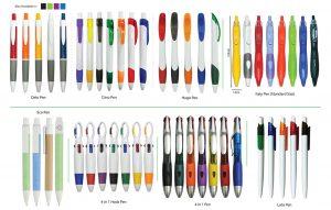 Percetakan Logo Korporat Pen Plastik 03